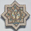 Star tile from Iran, Ilkhanid period, Honolulu Museum of Art V.JPG