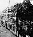Statthalterpalais an der Mühlenstraße in Düsseldorf; frühklassizistisches Palais erbaut 1766 von Hofbaumeister Ignatius Kees als Sitz des kurfürstlichen Statthalters.jpg