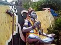 Statue of Lord Shiva at Talupulamma Lova Temple 02.jpg