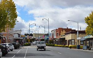 Stawell, Victoria - Main street, Stawell