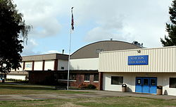 Stayton High School main entrance - Stayton Oregon.jpg