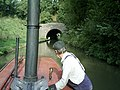 Steaming into the Canal tunnel - geograph.org.uk - 1499668.jpg