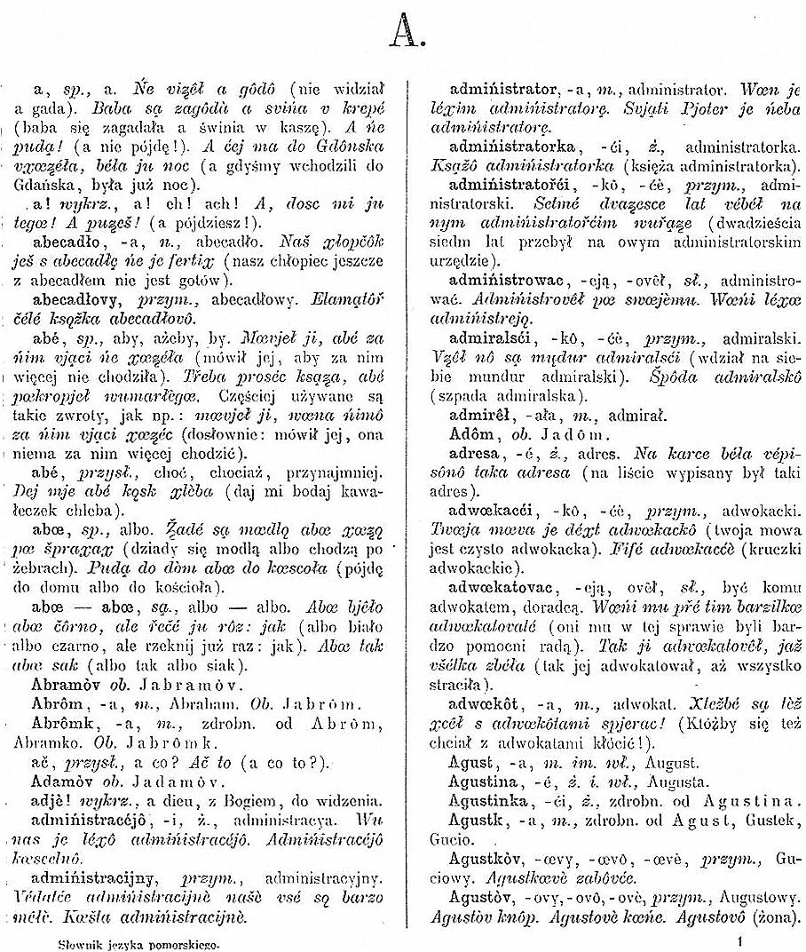 Stefan Ramult-Pomeranian Dictionary