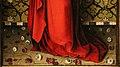 Stefan lochner, madonna incoronata da angeli, colonia 1450 ca. 03 rose.jpg