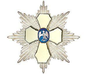Order of the Falcon - Image: Ster Orde van de Valk I Jsland