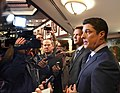 Steve Crisafulli comments to the media with Andy Gardiner at his side.jpg
