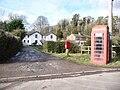 Steventon, postbox No. RG28 113 and phone - geograph.org.uk - 1162798.jpg