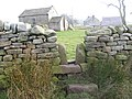 Stile and Old Chapel, Grange House, Dacre - geograph.org.uk - 1081564.jpg