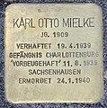 Stolperstein Alexanderplatz 2 (Mitte) Karl Otto Mielke.jpg