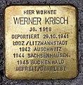 Stolperstein Bötzowstr 60 (Prenz) Werner Krisch.jpg