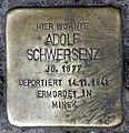 Stolperstein Donaustr 18 (Neukö) Adolf Schwersenz.jpg
