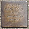 Stolperstein HB-Sebaldsbrücker Heerstr 55 Isaak Traum.jpg
