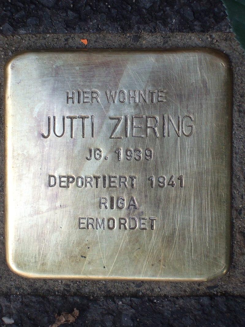 Stolperstein Jutti Ziering.jpg
