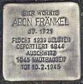 Stolperstein Karlsruhe Aron Fränkel.jpg