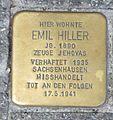Stolperstein Karlsruhe Emil Hiller.jpg