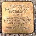 Stolperstein Kleve Pannofenstraße 5 Rachel Schaap.jpg