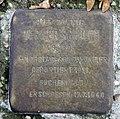 Stolperstein Klopstockstr 18 (Hansa) Werner Scholem.jpg