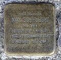 Stolperstein Livländische Str 17 (Wilmd) Max Schrubski.jpg