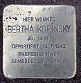 Stolperstein Petzower Str 13 (Wanns) Bertha Kopinsky.jpg