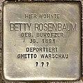 Stolperstein für Betty Rosenbaum (Potsdam).jpg