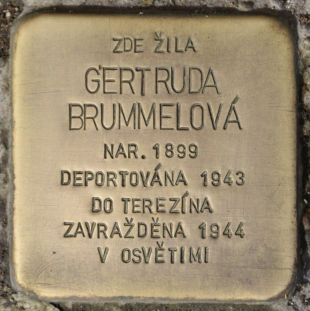 Stolperstein für Gertruda Brummelova.jpg