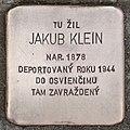 Stolperstein für Jakub Klein 01.jpg