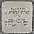 Stolperstein für Siegmund Hayum (Grevenmacher).jpg
