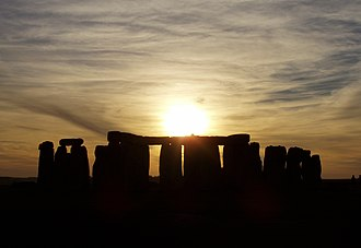 National treasure - Stonehenge in the United Kingdom