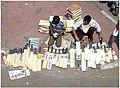 Street vendor in Charminar area, Hyderabad, India.JPG