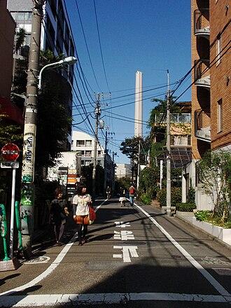 Daikanyamachō, Shibuya - Image: Streetdaikanyama
