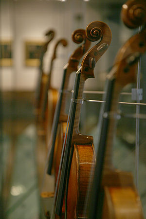Royal Academy of Music Museum - The Strings gallery.