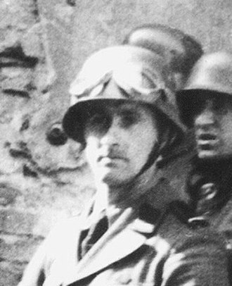 Warsaw Ghetto boy - Blösche in the photograph