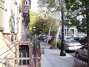 St. Mark's Historic District - Much of Stuyvesant Street is part of the district