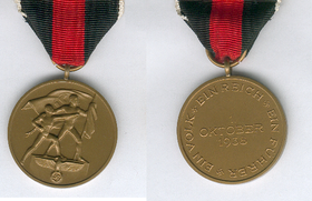 image illustrative de l'article Médaille des Sudètes
