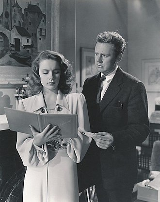 Susan Peters - Peters and Van Johnson in Dr. Gillespie's New Assistant (1942)