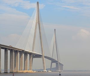 Sutong Yangtze River Bridge - Image: Sutong Yangtze River Bridge
