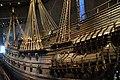 Swedish warship Vasa, sank 1628, Vasamuseet, Stockholm (30) (35872473340).jpg