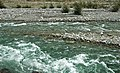 Swiftcurrent Creek (just downstream from Boulder Creek confluence, west of the northern end of Lower Saint Mary Lake, Glacier County, Montana, USA) 1 (20061304082).jpg