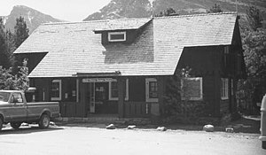 Swiftcurrent Ranger Station Historic District - Image: Swiftcurrent Ranger Station
