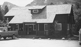 Swiftcurrent Ranger Station Historic District United States historic place