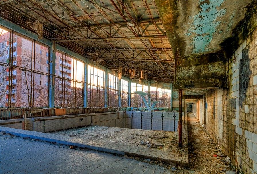 Swimming Pool Hall 4 Pripyat