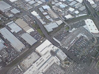 Sylvia Park - An aerial view showing most of the centre in mid-2008.