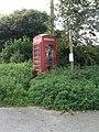 Symondsbury, phone box by old London Inn - geograph.org.uk - 983827.jpg