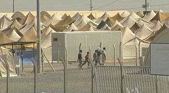 Syrian refugee camps - The Ceylanpınar tent camp.