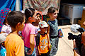 Syrische Flüchtlingskinder im UNHCR Camp in Kurdistan (15761706039).jpg