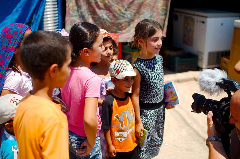 File:Syrische Flüchtlingskinder im UNHCR Camp in Kurdistan (15761706039).jpg