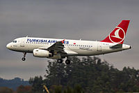 TC-JLZ - A319 - Turkish Airlines