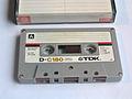 TDK D C180 cassette.jpg