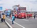 TEAM Coca Cola Car at Mibu, Tokyo 2020 torch relay.jpg