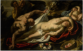 THE SLEEPING ANTIOPE APPROACHED BY JUPITER.png